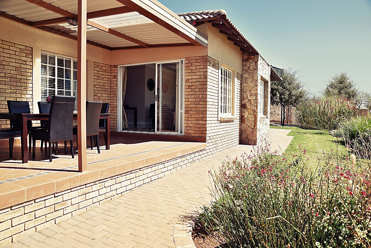 Protea Retirement Village Patio