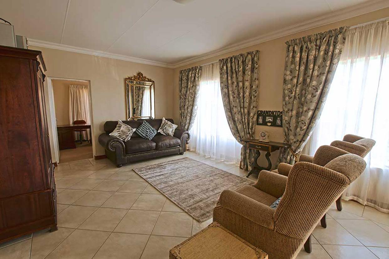 Amorosa Retirement Village open-plan lounge and study