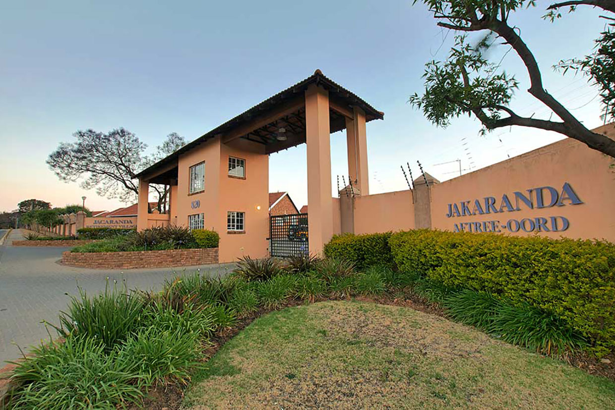 Jakaranda Retirement Village entrance