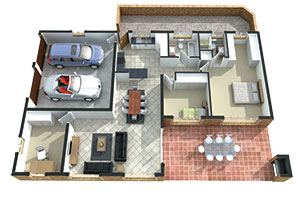 Regent Park Retirement Village C-Type unit - 2 bed, 2 bath