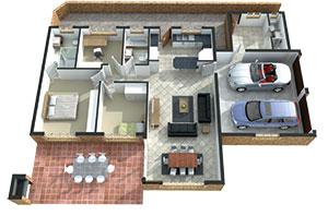 Regent Park Retirement Village D-type unit, 3 bed, 2 bath
