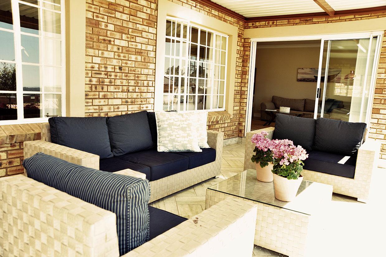 Regent Park Retirement Village with spacious patio