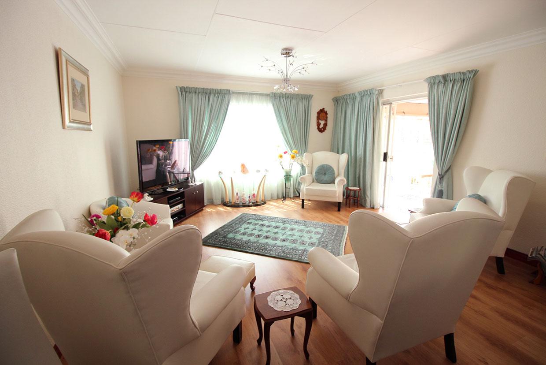 Victoria Park Retirement Village lounge